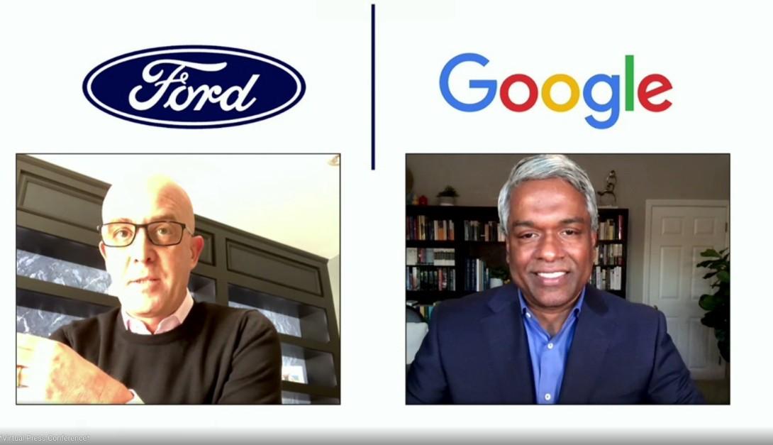 Google Ford Thomas Kurian David McClelland